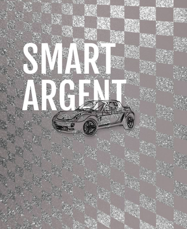 Formula Kids - Smart Roadster - Volant argent
