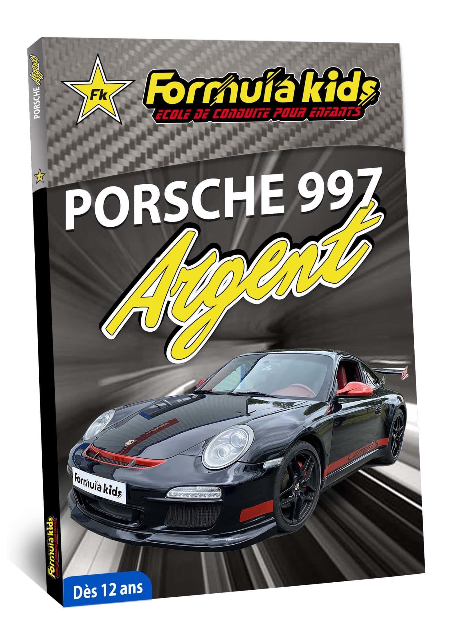 Porsche 997 Argent - Conduire une Porsche dès 12 ans - Formula Kids - Stage de conduite enfant - Stage de pilotage sur As'Phalte - Stage Junior - Conduire une TT dès 7 ans - Formula Kids - Stage de conduite enfant - Stage de pilotage sur As'Phalte - Stage Junior - Cadeau - Idée anniversaire - Smart Box - Idée Cadeau - Loisir - Famille - Pilotage - - Pilotage GT - Pilotage enfant - Porsche 991 - Porsche 997 - Porsche Carrera 4S - PDK