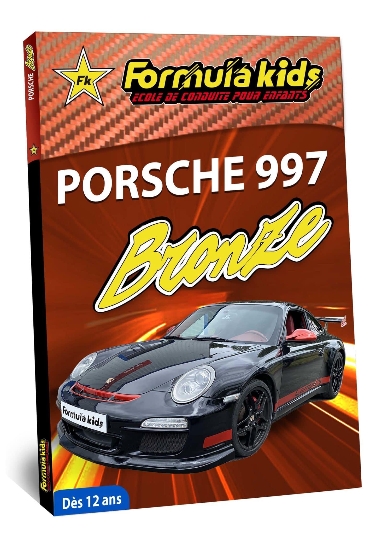 Porsche 997 Bronze - Conduire une Porsche dès 12 ans - Formula Kids - Stage de conduite enfant - Stage de pilotage sur As'Phalte - Stage Junior - Conduire une TT dès 7 ans - Formula Kids - Stage de conduite enfant - Stage de pilotage sur As'Phalte - Stage Junior - Cadeau - Idée anniversaire - Smart Box - Idée Cadeau - Loisir - Famille - Pilotage - - Pilotage GT - Pilotage enfant - Porsche 991 - Porsche 997 - Porsche Carrera 4S - PDK