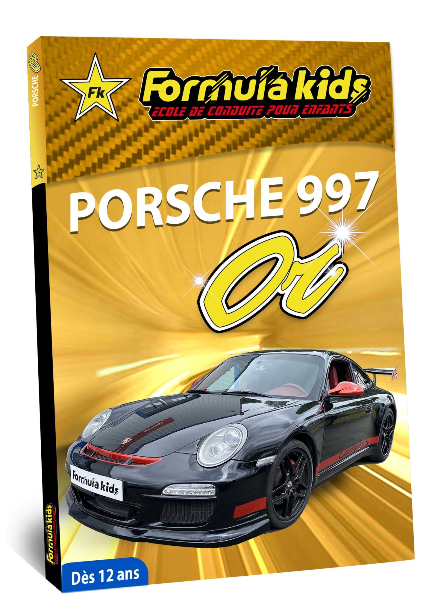 Porsche Or - Conduire une Porsche dès 12 ans - Formula Kids - Stage de conduite enfant - Stage de pilotage sur As'Phalte - Stage Junior - Conduire une TT dès 7 ans - Formula Kids - Stage de conduite enfant - Stage de pilotage sur As'Phalte - Stage Junior - Cadeau - Idée anniversaire - Smart Box - Idée Cadeau - Loisir - Famille - Pilotage - - Pilotage GT - Pilotage enfant - Porsche 991 - Porsche 997 - Porsche Carrera 4S -