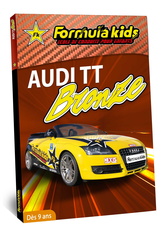 Audi Bronze - Conduire une Audi dès 9 ans - Formula Kids - Stage de conduite enfant