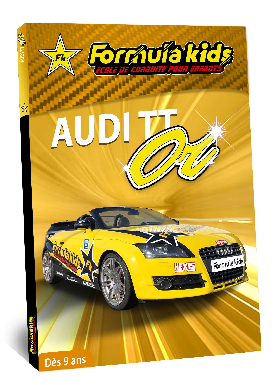 Audi Or - Conduire une Audi dès 9 ans - Formula Kids - Stage de conduite enfant
