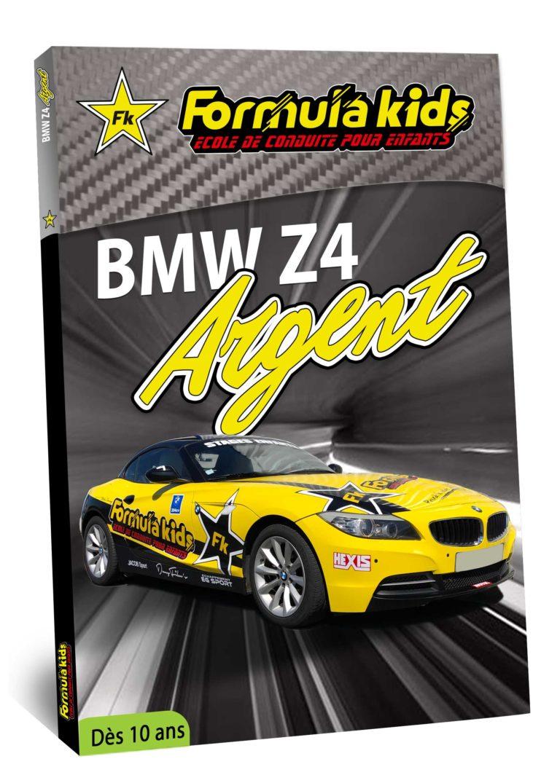 BMW Argent - Conduire une BMW dès 10 ans - Formula Kids - Stage de conduite enfant
