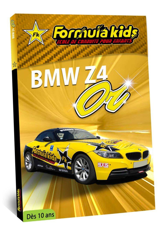 BMW Or - Conduire une BMW dès 10 ans - Formula Kids - Stage de conduite enfant