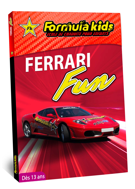Ferrari Fun - Conduire une Ferrari dès 13 ans - Formula Kids - Stage de conduite enfant