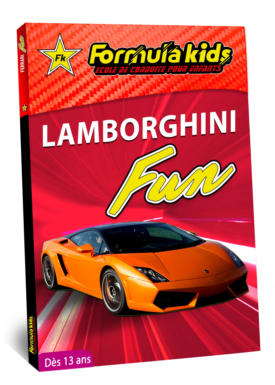 Lamborghini Fun - Conduire une Lamborghini dès 13 ans - Formula Kids - Stage de conduite enfant