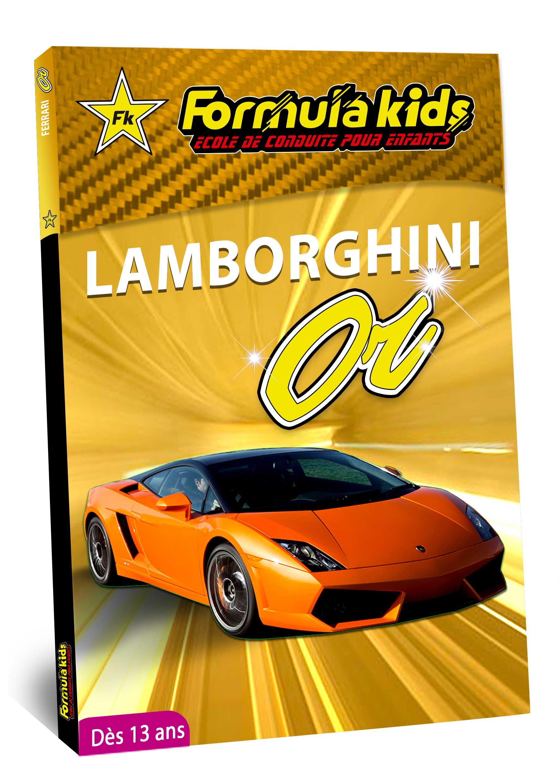 Lamborghini Or - Conduire une Lamborghini dès 13 ans - Formula Kids - Stage de conduite enfant