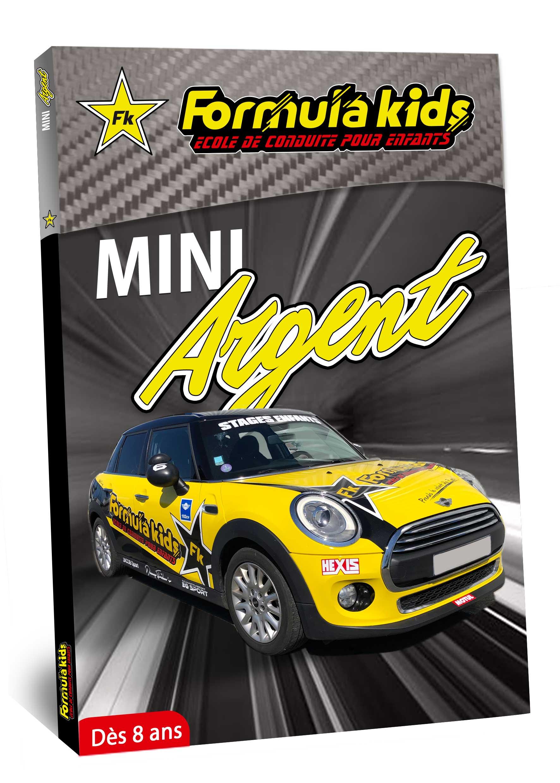 Mini Argent - Conduire une Mini dès 8 ans - Formula Kids - Stage de conduite enfant