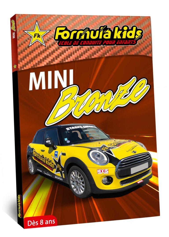 Mini Bronze - Conduire une Mini dès 8 ans - Formula Kids - Stage de conduite enfant