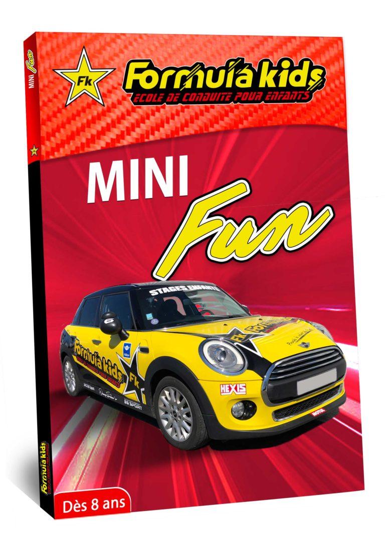 Mini Fun - Conduire une Mini dès 8 ans - Formula Kids - Stage de conduite enfant