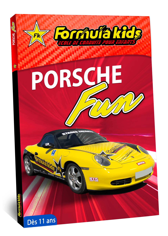 Porsche Fun - Conduire une Porsche dès 11 ans - Formula Kids - Stage de conduite enfant