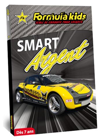 Smart Argent - Conduire une Smart dès 7 ans - Formula Kids - Stage de conduite enfant