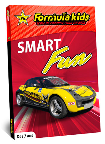 coffret cadeau Formula Kids Smart Fun