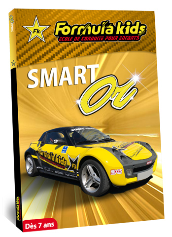coffret cadeau Formula Kids Smart Or