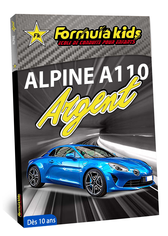 Alpine A110 Argent - Conduire une Alpine A110 dès 7 ans - Formula Kids - Stage de conduite enfant - Stage de pilotage sur As'Phalte - Stage Junior - Conduire une A110 dès 7 ans - Formula Kids - Stage de conduite enfant - Stage de pilotage sur As'Phalte - Stage Junior - Cadeau - Idée anniversaire - Smart Box - Idée Cadeau - Loisir - Famille - Pilotage - - Pilotage GT - Pilotage enfant - Alpine A110 S - A110 - ALPINE - A310 -