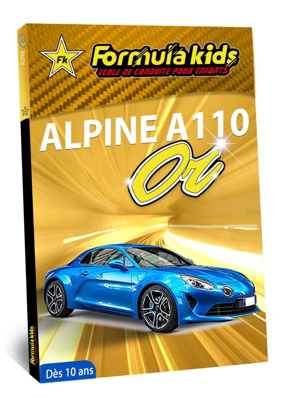 Alpine A110 OR - Conduire une Alpine A110 dès 7 ans - Formula Kids - Stage de conduite enfant - Stage de pilotage sur As'Phalte - Stage Junior - Conduire une A110 dès 7 ans - Formula Kids - Stage de conduite enfant - Stage de pilotage sur As'Phalte - Stage Junior - Cadeau - Idée anniversaire - Smart Box - Idée Cadeau - Loisir - Famille - Pilotage - - Pilotage GT - Pilotage enfant - Alpine A110 S - A110 - ALPINE - A310 -