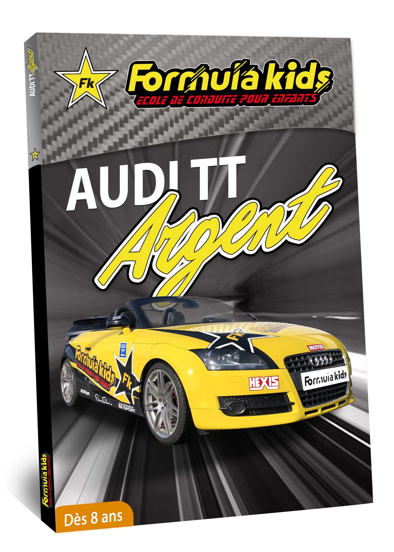 Audi Argent - Conduire une Audi TT dès 7 ans - Formula Kids - Stage de conduite enfant - Stage de pilotage sur As'Phalte - Stage Junior - Conduire une TT dès 7 ans - Formula Kids - Stage de conduite enfant - Stage de pilotage sur As'Phalte - Stage Junior - Cadeau - Idée anniversaire - Smart Box - Idée Cadeau - Loisir - Famille - Pilotage - - Pilotage GT - Pilotage enfant - Audi - Audi RS - Audi TT - RS6
