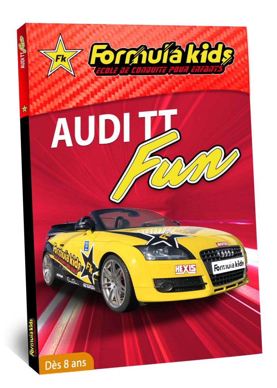 Audi Fun - Conduire une Audi dès 9 ans - Formula Kids - Stage de conduite enfant