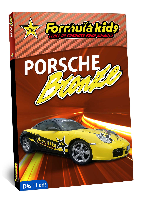 Porsche Cayman Bronze - Conduire une Porsche Cayman dès 7 ans - Formula Kids - Stage de conduite enfant - Stage de pilotage sur As'Phalte - Stage Junior - Gallardo LP 560 - Cadeau - Idée anniversaire - Smart Box - Idée Cadeau - Loisir - Famille - Pilotage -