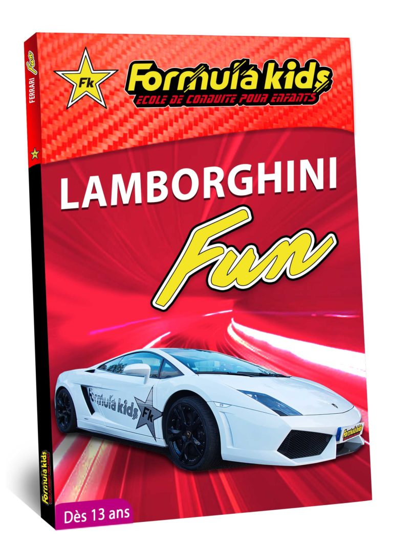 Lamborghini Fun - Conduire une Lamborghini dès 7 ans - Formula Kids - Stage de conduite enfant - Stage de pilotage sur As'Phalte - Stage Junior - Gallardo LP 560 -