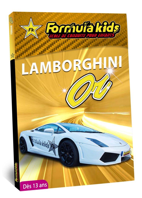 Lamborghini Or - Conduire une Lamborghini dès 7 ans - Formula Kids - Stage de conduite enfant - Stage de pilotage sur As'Phalte - Stage Junior - Gallardo LP 560 -